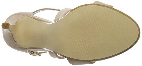 Ankle Harper Heels Strap Beige Women''s nude Office qPnw8E5xBW