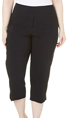 Used, Zac & Rachel Plus Millennium Crop Capris 18W Black for sale  Delivered anywhere in USA
