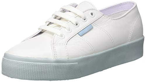 SUPERGA Size Sneakers Nappa 8 White in Le Women US Au 2730 rwrq8g