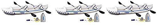 Sea Eagle SE370 Inflatable Sport Kayak Pro Package (Thrее Расk)