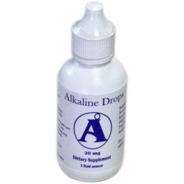 Alkaline Diet Combo - Alkaline Drops & Oxygen Drops - 2 Bottles