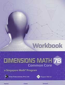 Workbook 7B Dimensions Math Common Core