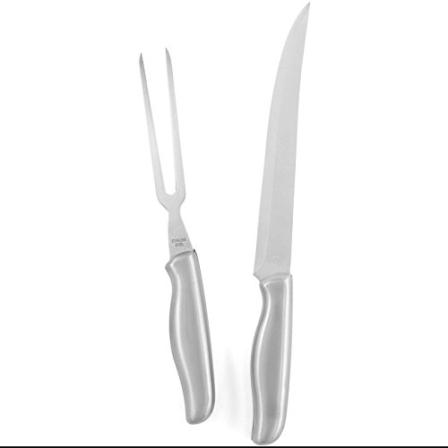 Carvel Hall Stainless Steel Carving Set 2 Piece Set by BigKitchen