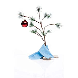 "Charlie Brown Christmas Tree with Blanket 24"" Tall (Non-Musical) 14"