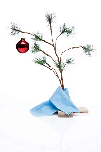 Charlie Brown Christmas Tree with Blanket 24' Tall...