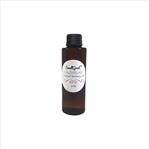 SmellGood Premium Scented Burning Oils, Pre-diluted and Reay for Use , Made in USA, 4 OZ (120 ml) , Fresh - International Priority Ups Mail