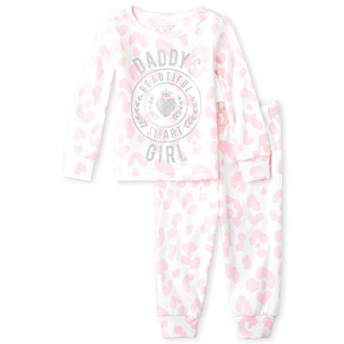 24 Months 2 Piece - The Children's Place Baby Girls Two Piece Pajama Set, Cameo, 18-24MONTH
