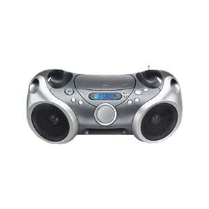 2KU7803 - Memorex IMT00125 Radio/CD/MP3 Player Boombox