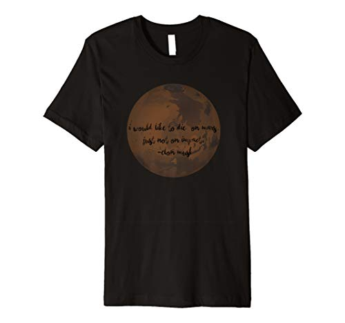 Lace Label Mars T-Shirt, Space Travel Shirt, Space Shirt by Lace Label