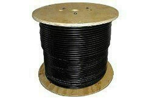 Solar Cable PV Wire, 10AWG, UL4703 , 600VDC, Black, 500' spool (500' Spool Wire)