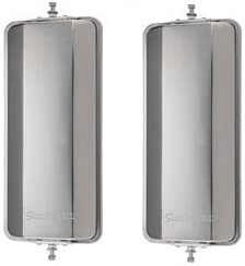 United Pacific 60028 Stainless Steel 7 X 16 West Coast Mirror