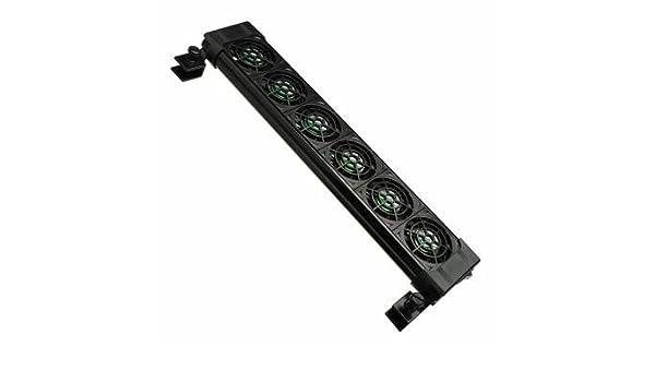 Takestop® Ventilador Refrigeración FS606 Acuario 6 ventiladores ...