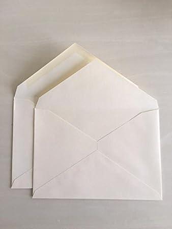amazon com double wedding envelope set in cream 50 count each