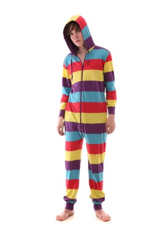 Adult Onesie Non Footed Pajama Red Yellow Purple Blue XS-XXL(Size on Height)