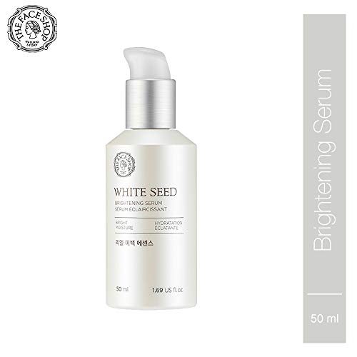 [THEFACESHOP] Anti Aging Serum Facial Moisturizer, Advanced Brightening and Skin Repair with Natural White Seed Extract - 1.69 Oz 50 mL (The Face Shop Chia Seed Cream Review)