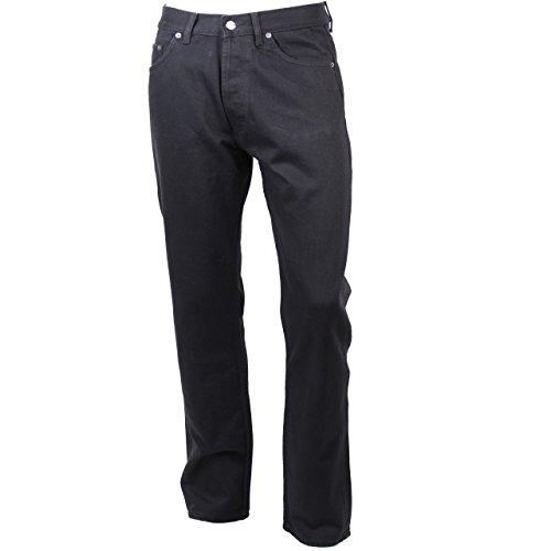 Denim Authentic Nera 100 Uomo Jeans Bauer Da Fly Zip Eddie Cotone Nero qF8SgZ0wx
