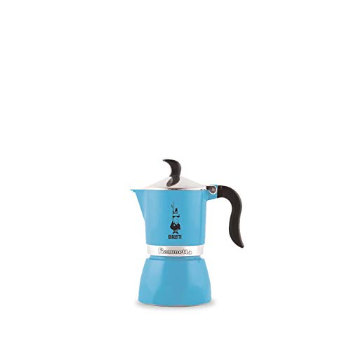 Bialetti 4631 Fiammetta Espresso Maker, Light Blue