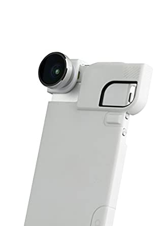 Ollo Technologies Olloclip 4-in-1 Iphone 5/5S with Grey Lens with Black Clip with Black Case OCEU-IPH5-FW2M-GYB-B