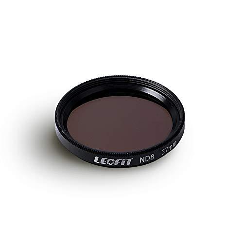 leofit Neutral Density ND8 Lens Filter 37mm ND Filter