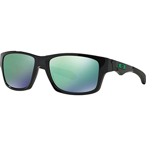 Oakley Men's  Jupiter Non-Polarized Square  Sunglasses,Polished Black Frame/Jade Lens,One - Oakley Aviators Black