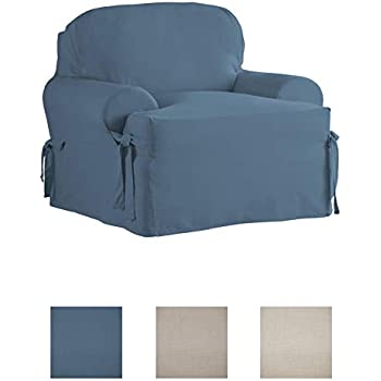 Amazon.com: Sure Fit funda para almohadones en T y sillas de ...