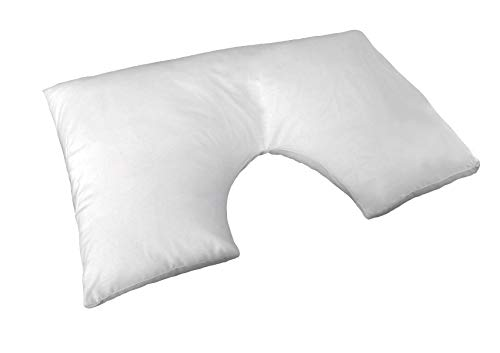 Deluxe Spinal Alignment Pillow Perfect for Side Sleepers Medium Support...
