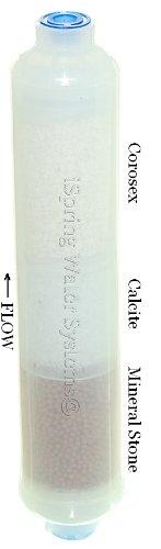iSpring 10 Inline Minerals Filter Replacement Cartridge Corosex Calcite Alkaline #FX15