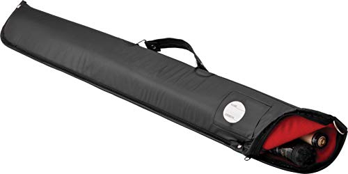 - Casemaster Billiard/Pool Cue Soft Vinyl Case, Holds 1 Complete 2-Piece Cue (1 Butt/1 Shaft)