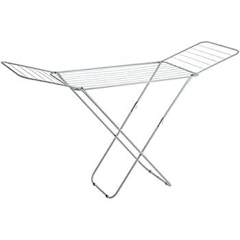 Amazon Com Sunbeam Folding Laundry Drying Rack Silver