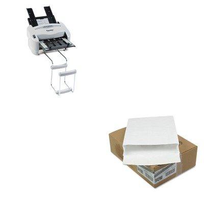 KITPREP7200QUAR4290 - Value Kit - Survivor Tyvek Expansion Mailer (QUAR4290) and Martin Yale Model P7200 RapidFold Light-Duty Desktop AutoFolder (PREP7200)