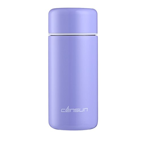 Censun Stainless Steel Water Bottle, Insulated Water Bottle, Vacuum Flask, Travel Mug for Kids, Mini Water Bottle, Coffee Cup 9oz New