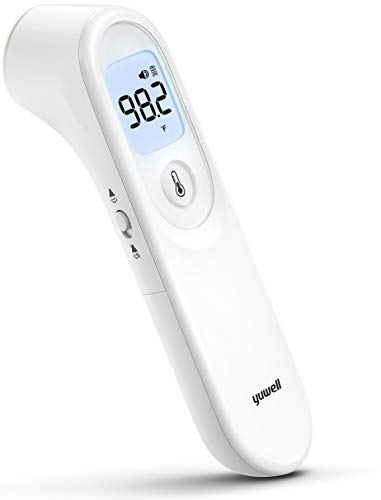 yuwell Infrared Thermometer, Forehead Non Contact Infrared Thermometer, Forehead Thermometer with Instant Accurate Reading and Fever Alarm for Adults and Children