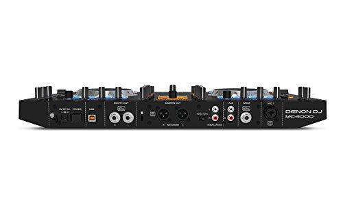 Denon DJ MC4000 | Premium 2-Channel DJ Controller with Serato DJ Lite download (24-bit / 48 kHz)