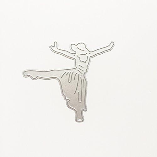 Metal Cutting Dies Stencils For DIY Scrapbooking Photo Album Card Dancing Girl by LIYUDL (Image #4)