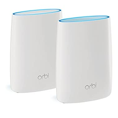Orbi Home WiFi System. Up to 4000sqft AC3000 Tri-Band WiFi (RBK50) By NETGEAR [WiFi Router & Satellite]