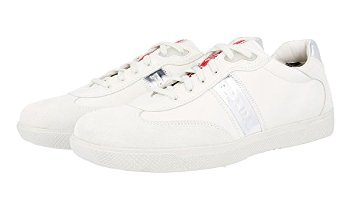 Prada Women's 3E3648 Leather Trainers/Sneaker looking for sale online clearance for cheap discount with paypal xrWwmh4m