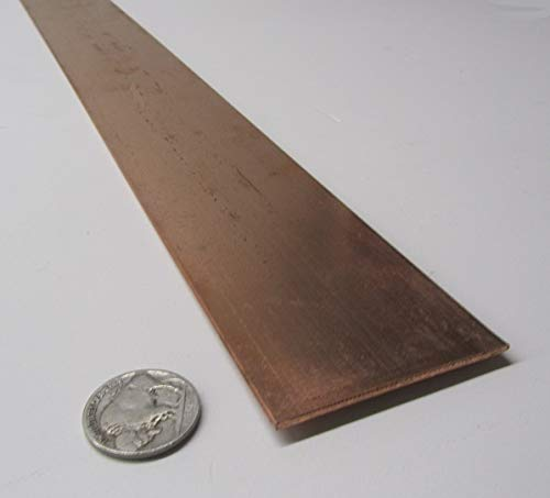 110 Copper Flat Bar Stock.125
