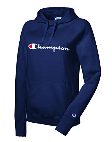 Champion Women's Fleece Pullover Hoodie, Imperial Indigo, XX-Large ()