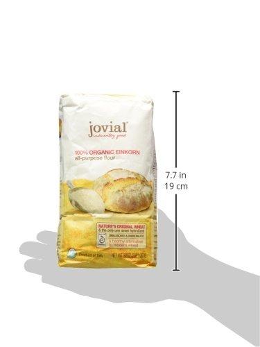 Jovial Foods Organic Einkorn Flour   Ounce