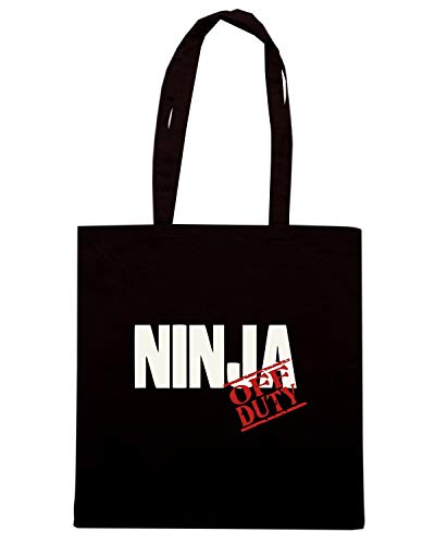 Borsa Shopper Nera TAM0144 OFF DUTY NINJA