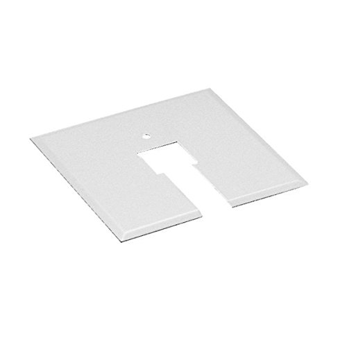 (WAC Lighting CP-WT Canopy Plate for Junction Box, White)