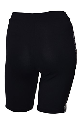 Privado isla Hawaii UV Rash Guard mujer Skinny pantalones cortos pantalones Black With Anaconda 1