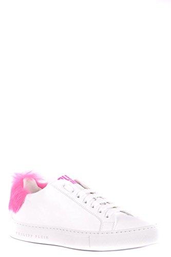Philipp Plein Damen Wsc0834ple075n0103 Weiss Leder Sneakers