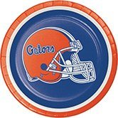 University Christmas Plate (Club Pack of 96 NCAA University of Florida Gators Paper Party Luncheon Plates 7