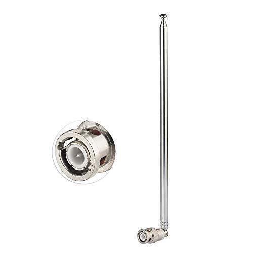 [해외]Superbat 144430MHZ 대 햄 밴드 로드 안테나 확장 안테나 소형 휴대용 (BNC 커넥터 7 단) / Superbat 144430MHZ Hamband Rod Antenna Telescopic Antenna Small Portable (BNC Connector 7 Stages)