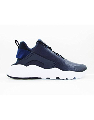 Nike Womens Huarache Run Ultra PRM Running Trainers 859511 Sneakers Shoes (Medium, midnight navy 400)