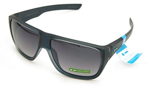 Dot Dash Sunglasses APERTURE New color (matte silver blue / light silver mirror gradient - Dot Sunglasses Dash