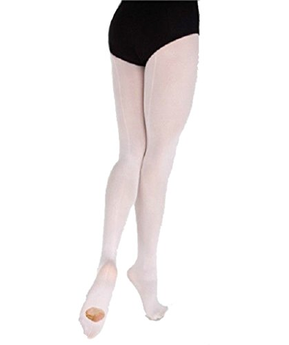 Stretch Mesh Tights (Body Wrappers Womens BCK SM CONVERT TIG A45 -THEATRICAL P S)