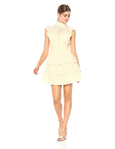 Wild Meadow Women's Lace Flounce Cocktail Dress
