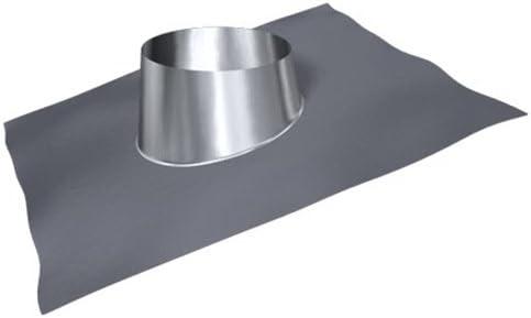 Dachdurchführung 5°-20° DW 250 Lochdurchmesser 330 mm Schornstein Edelstahl
